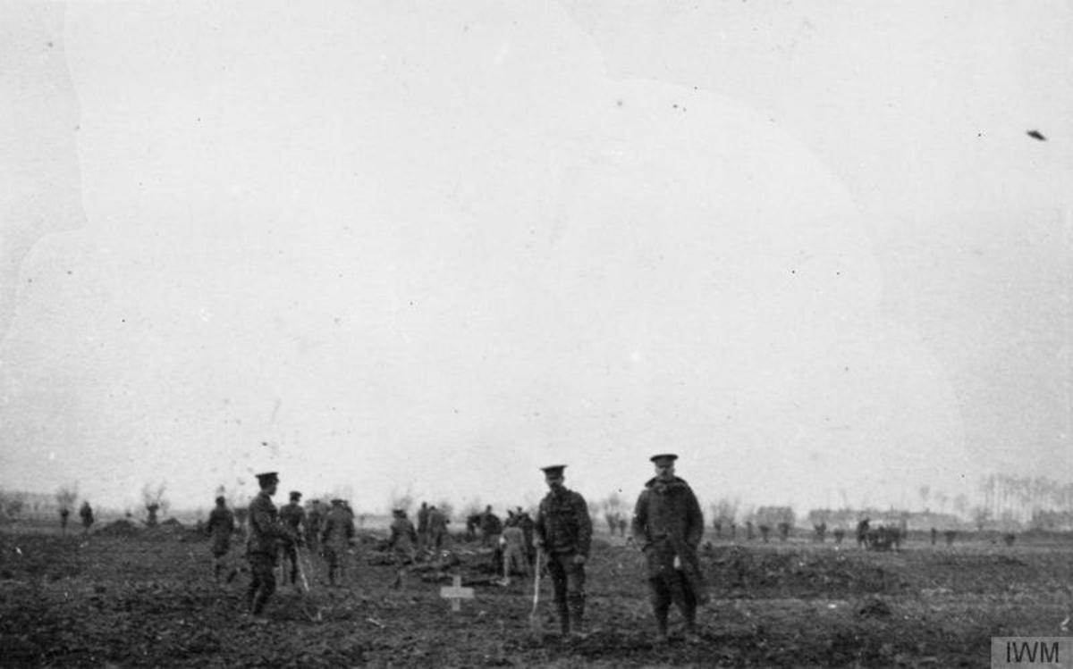 Christmas Truce on the Western Front 1914 - First World War