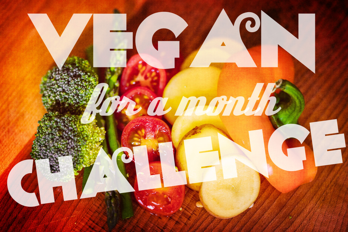 Vegan for a Month Challenge:  My Experience and Outcomes