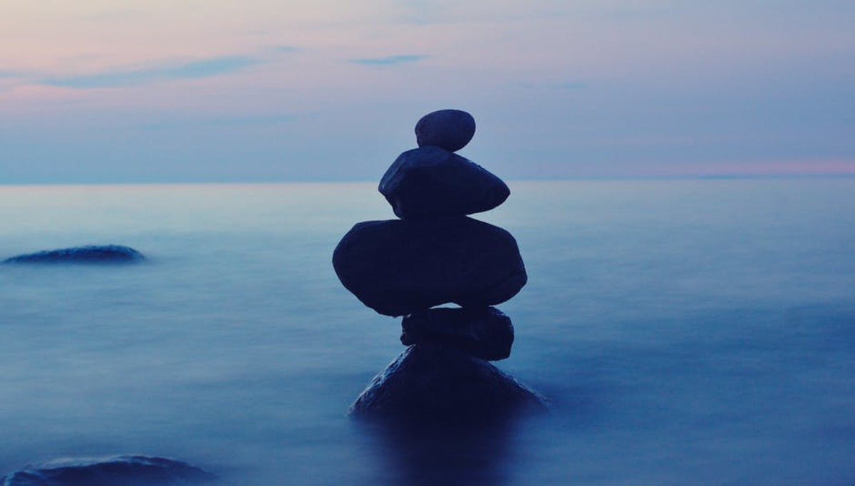 Balancing your mind and your heart is the key to a fulfilling, successful life.