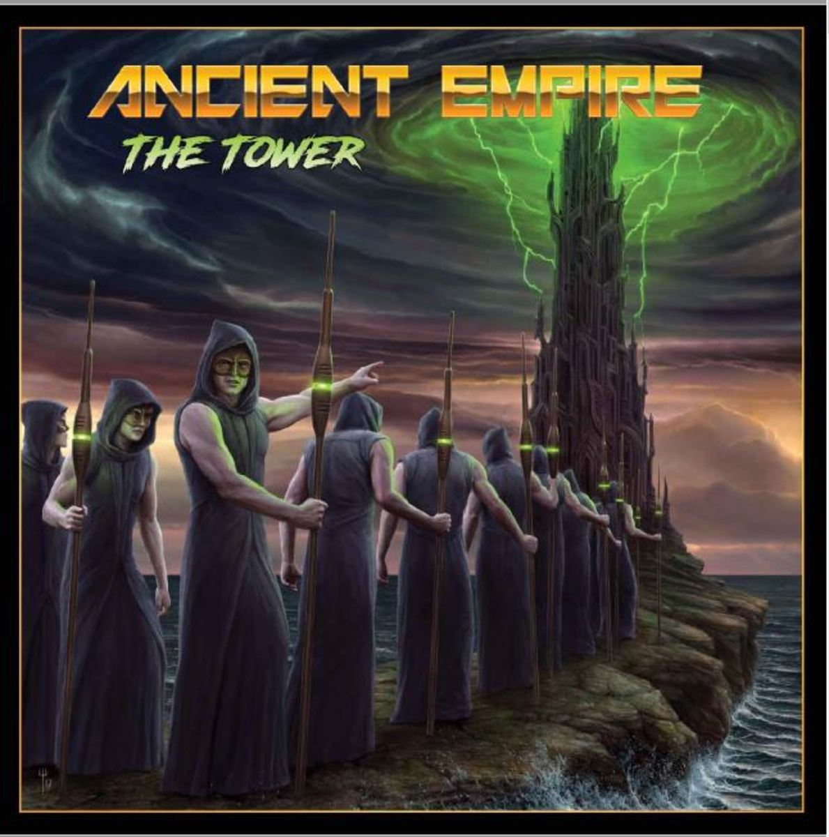 "Ancient Empire ""The Tower"" (2017) Album Review"