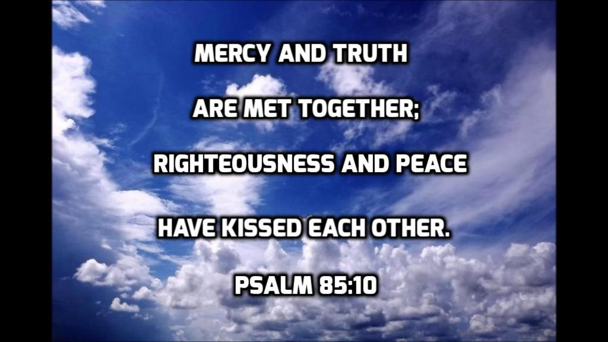 Mercy and Truth Bible Verse