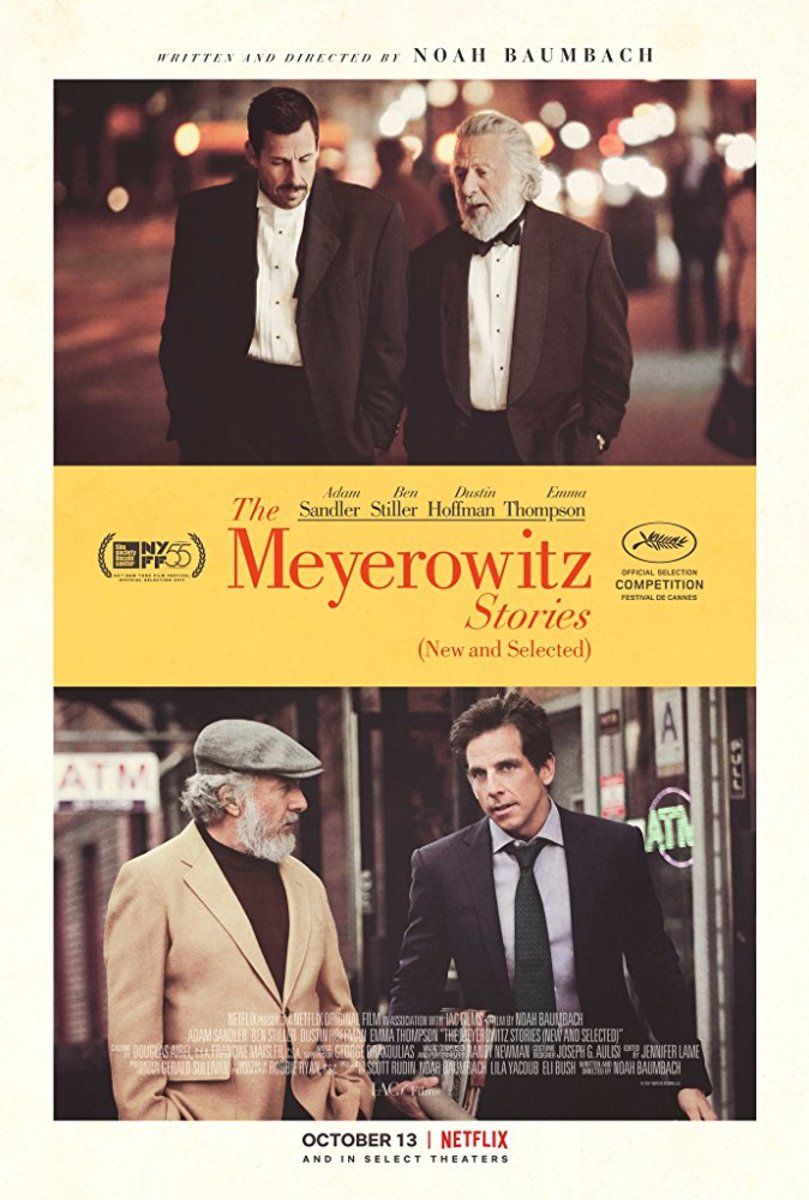 Baumbach's New York: The Meyerowitz Stories (New and Selected)
