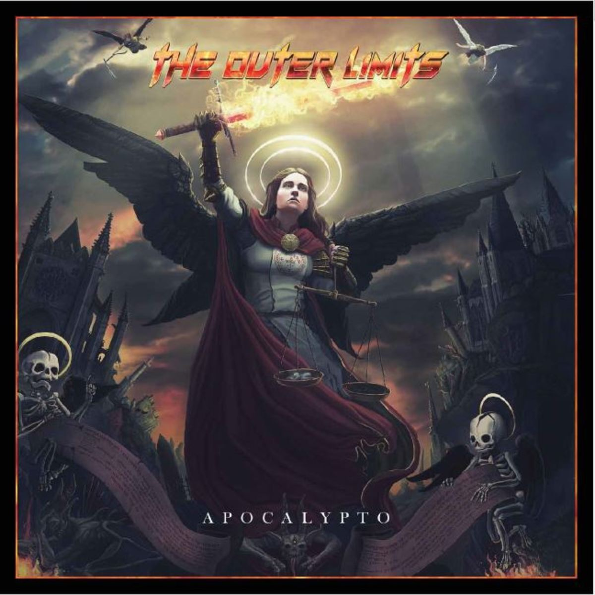 "The Outer Limits ""Apocalypto"" album cover"