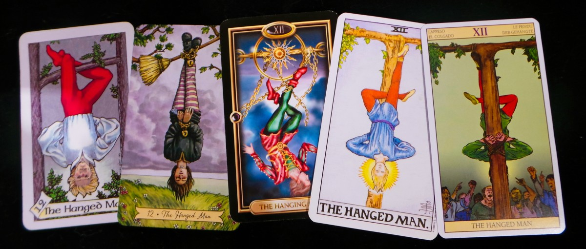 The Hanged Man in Tarot | Exemplore