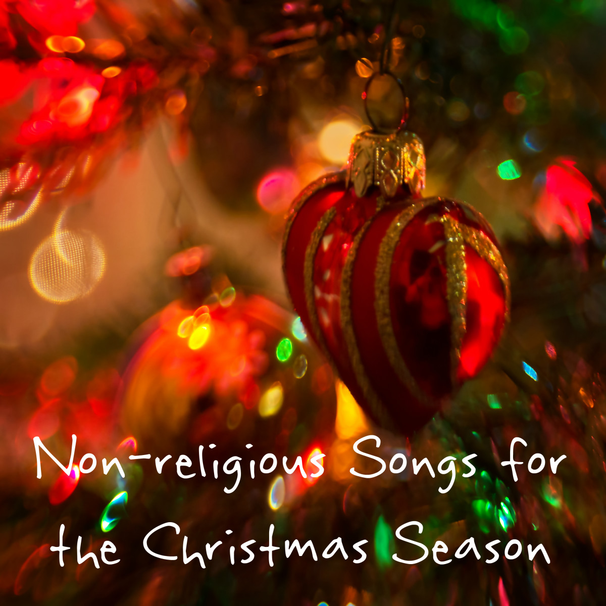 Having an office party or other event and need a playlist of Christmas songs that aren't religious? Or perhaps you're not Christian but want to celebrate the joy of the holiday season.  Here's a playlist of songs without mention of religion.