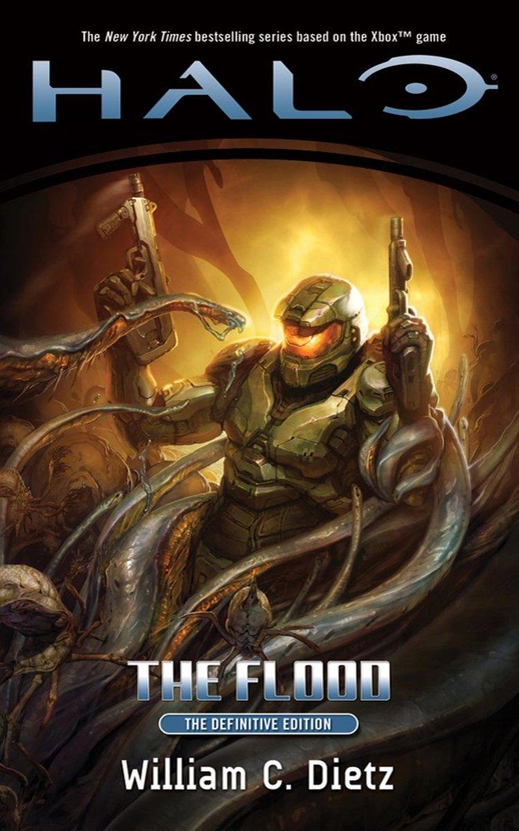 """William C. Dietz's book, """"Halo: The Flood."""""""
