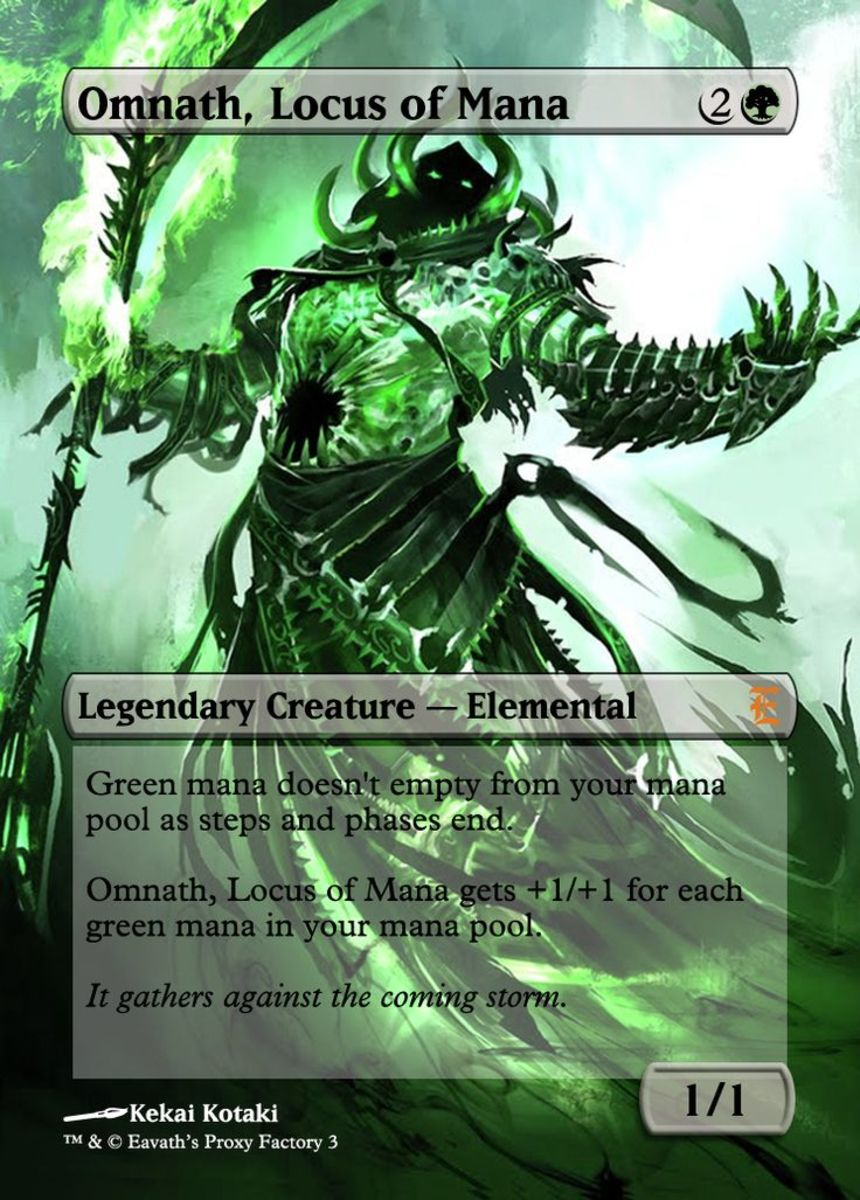 Omnath, Locus of Mana Commander Deck in MTG