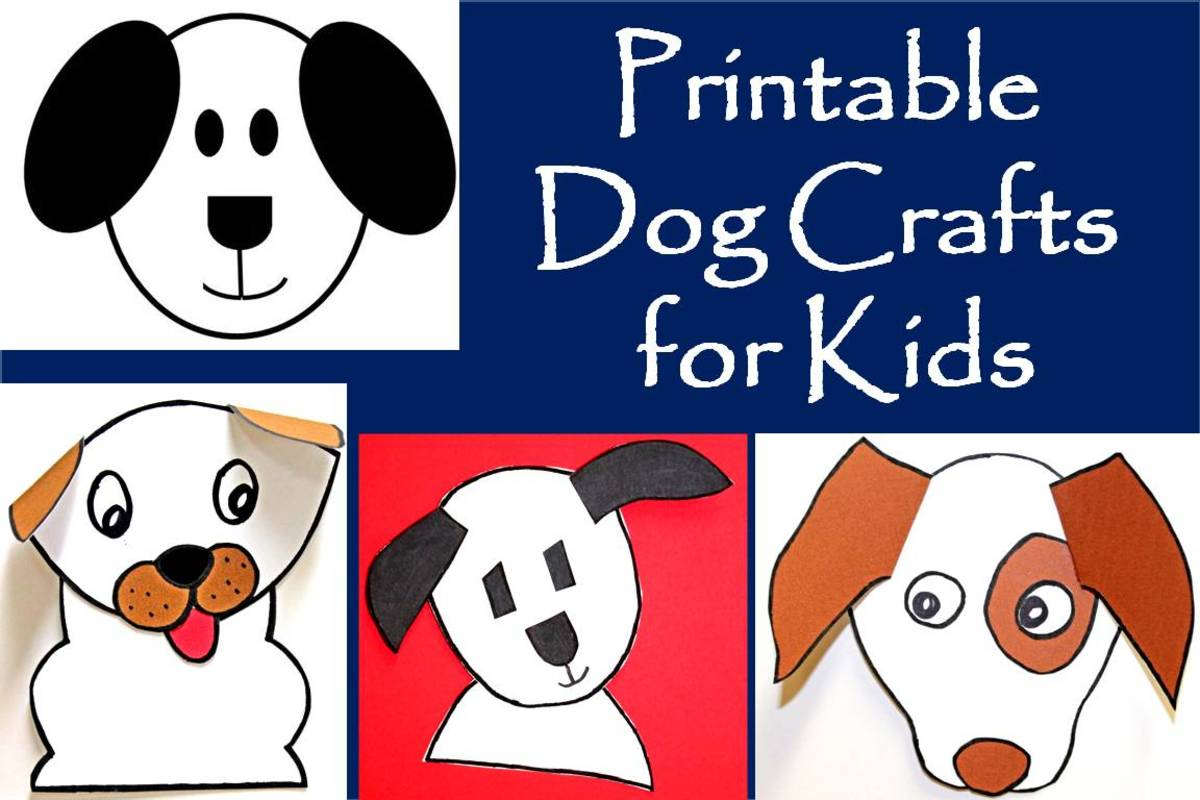 Printable Dog Patterns With Simple Shapes For Kids Crafts Feltmagnet