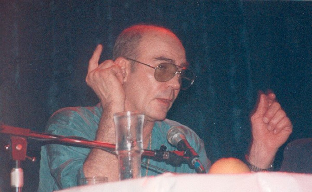 Hunter S. Thompson, Long Beach, California, May 1989.
