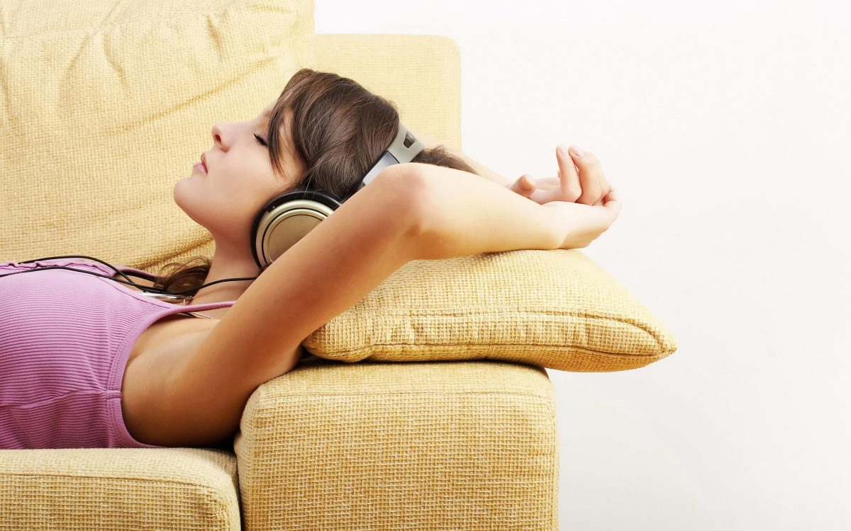 Listening to a guided mediation is convenient!