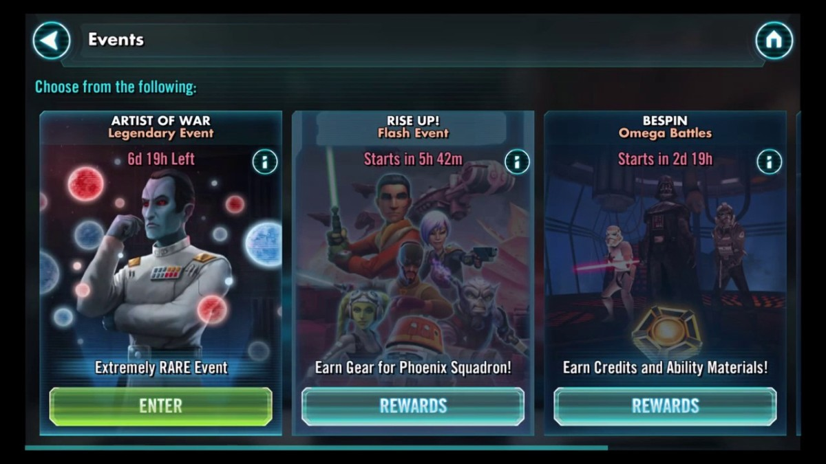 SWGOH Artist of War