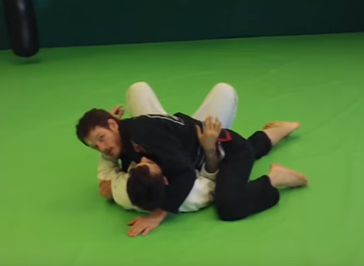 Side-Control Troubleshooting: How to Control the Inside Arm (BJJ)