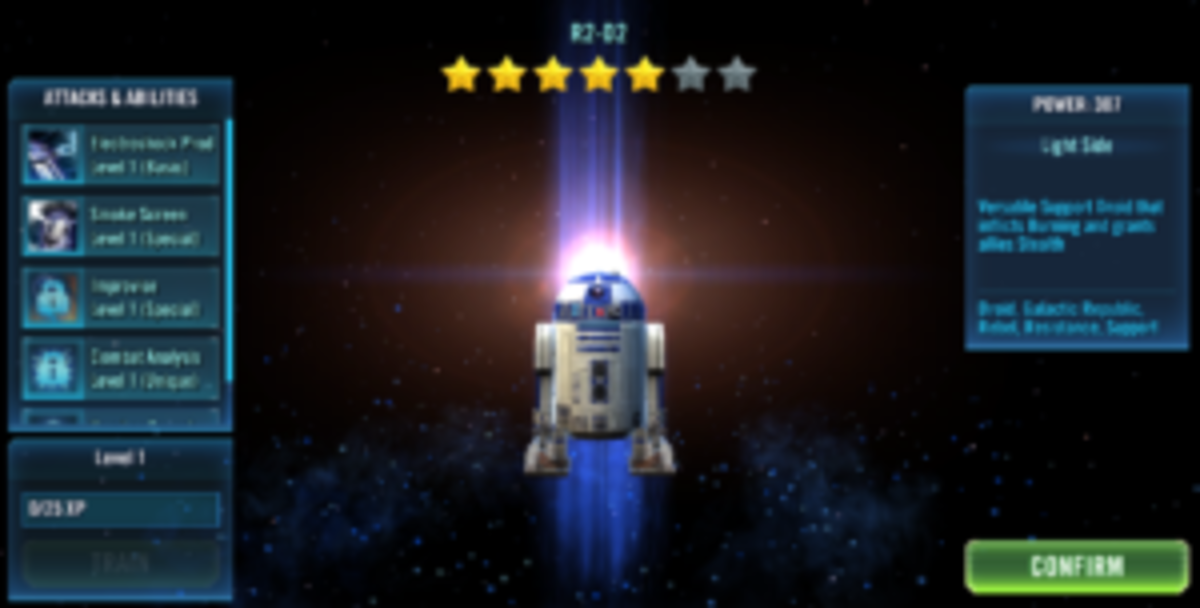 Star Wars Galaxy of Heroes: Empire Daring Droid R2-D2 Event Tips