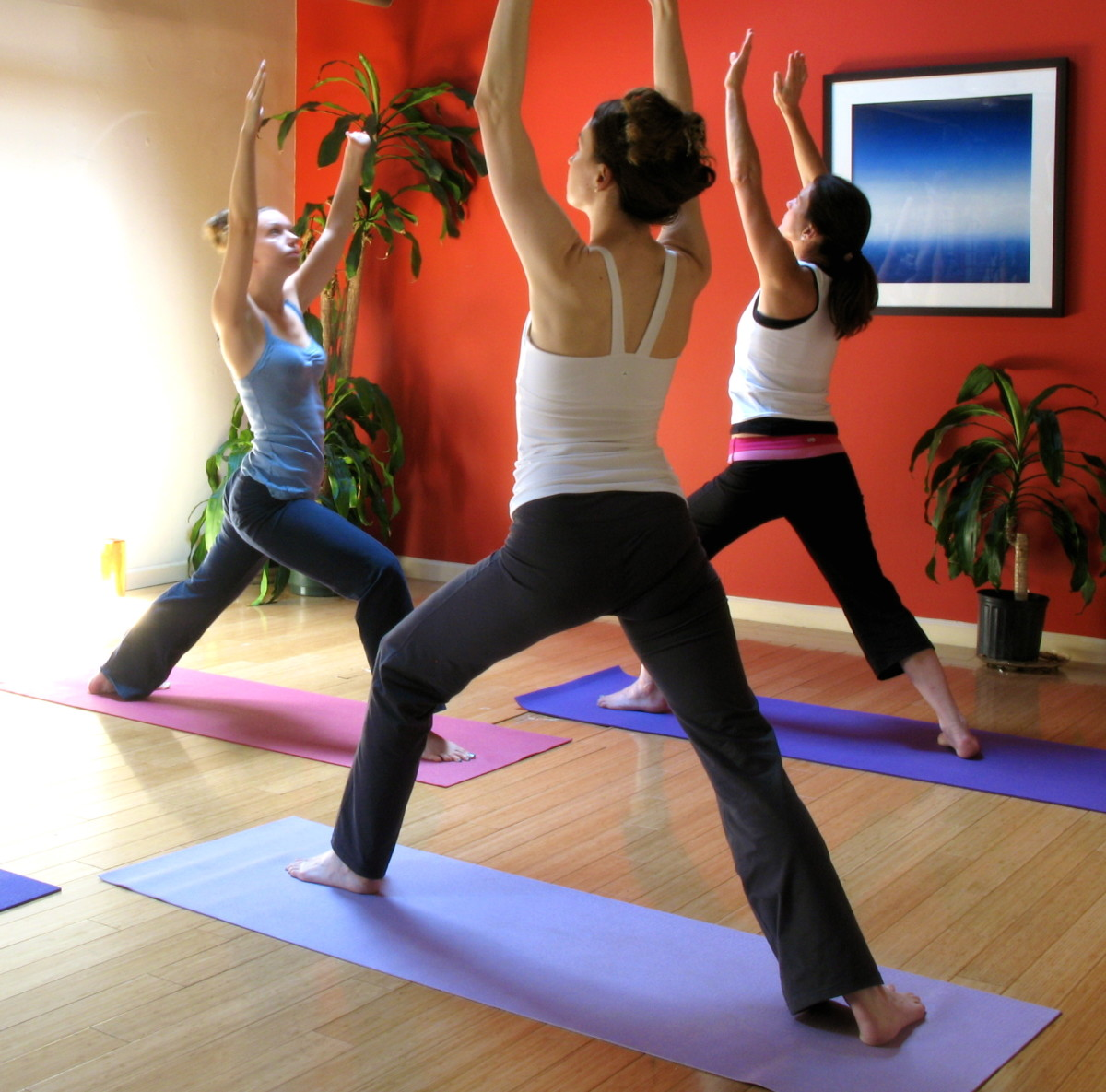 Gentle chest opening yoga exercises - good for costochondritis