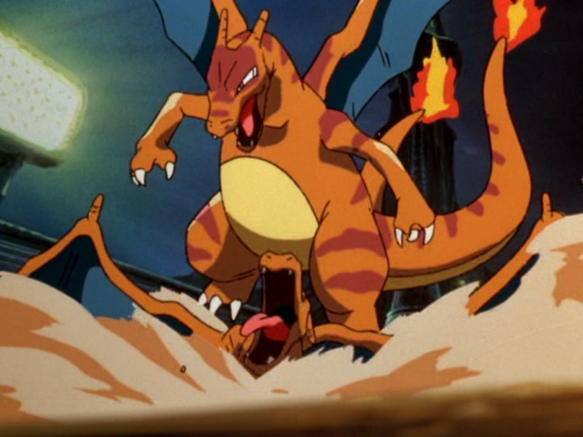 Every Pokemon Charizard Has Lost to in the Anime