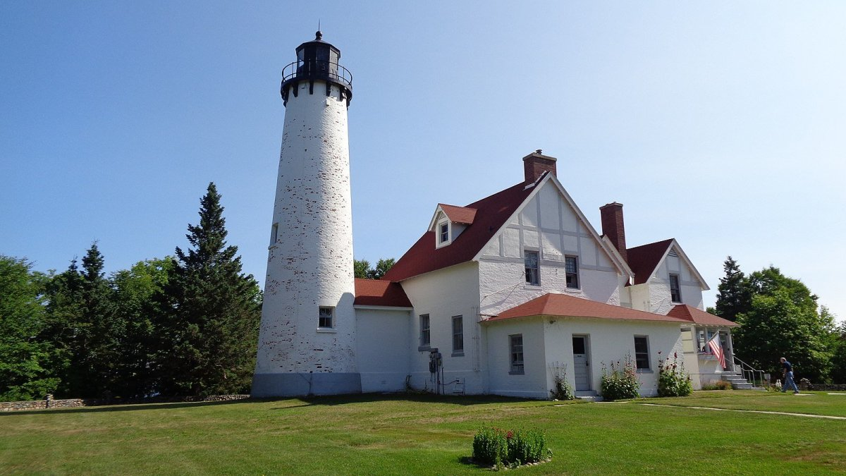 Michigan Lighthouses on Lake Superior