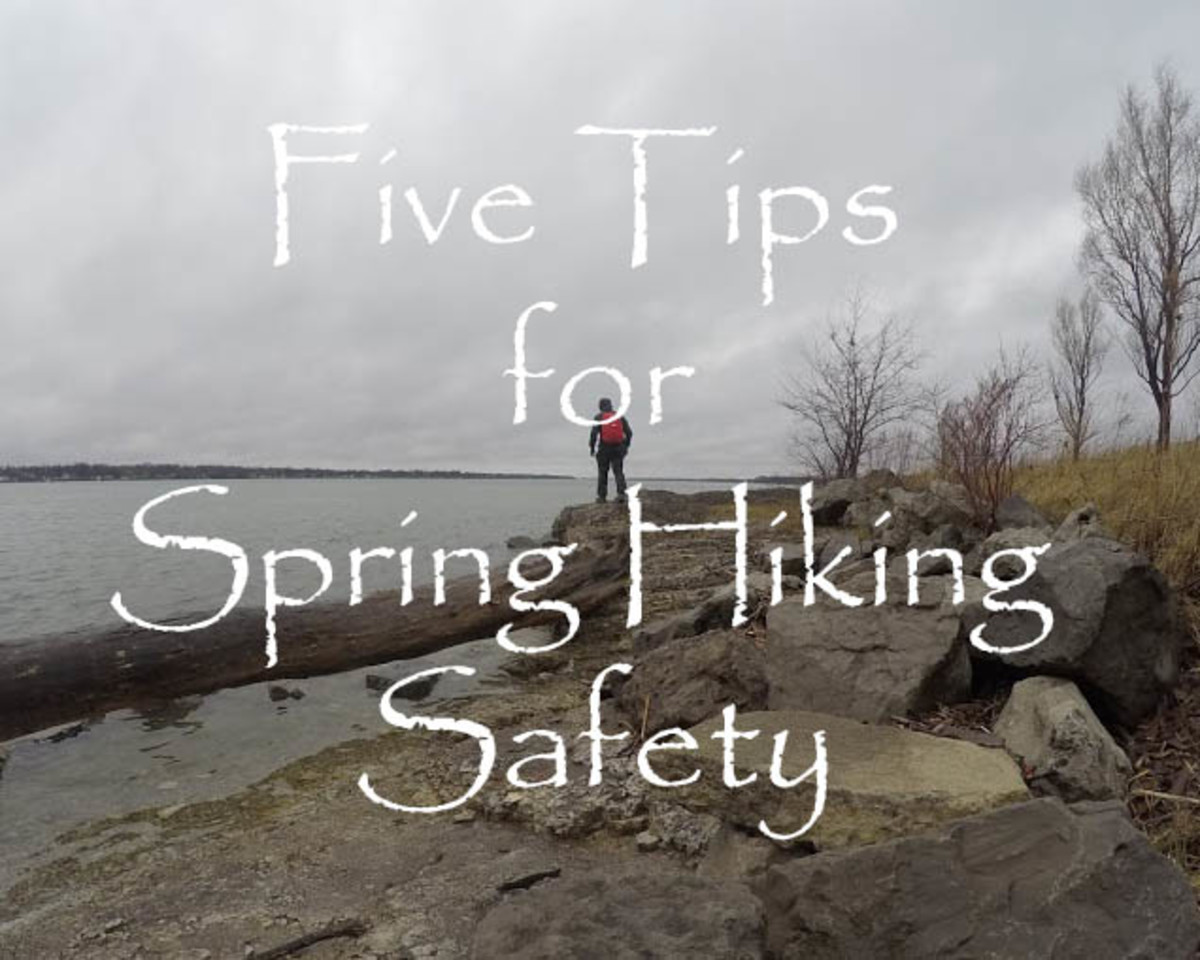 Five tips for safe hiking in spring.