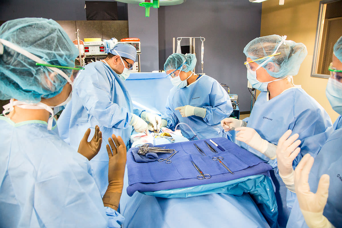 A picture says a thousand words. CSTs are a vital part of the operating room.