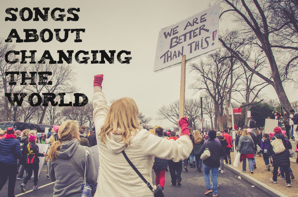 Whatever your social cause is, become an activist and make positive change now. Get inspired with a playlist of pop, rock, country, and hip-hop songs about changing the world.