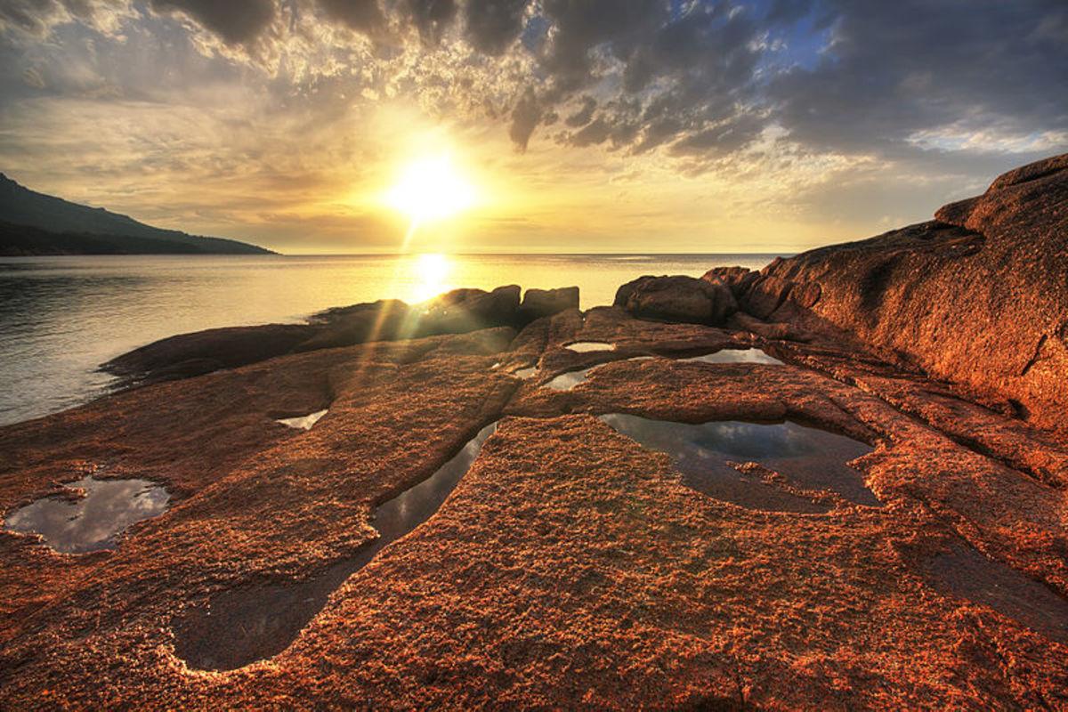 Honeymoon Bay, Tasmania.