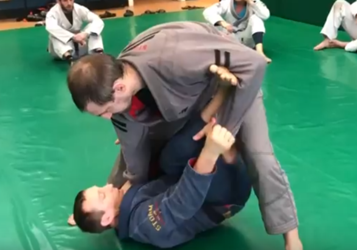 How to Get From Spider Guard to X-Guard in Brazilian Jiu-Jitsu