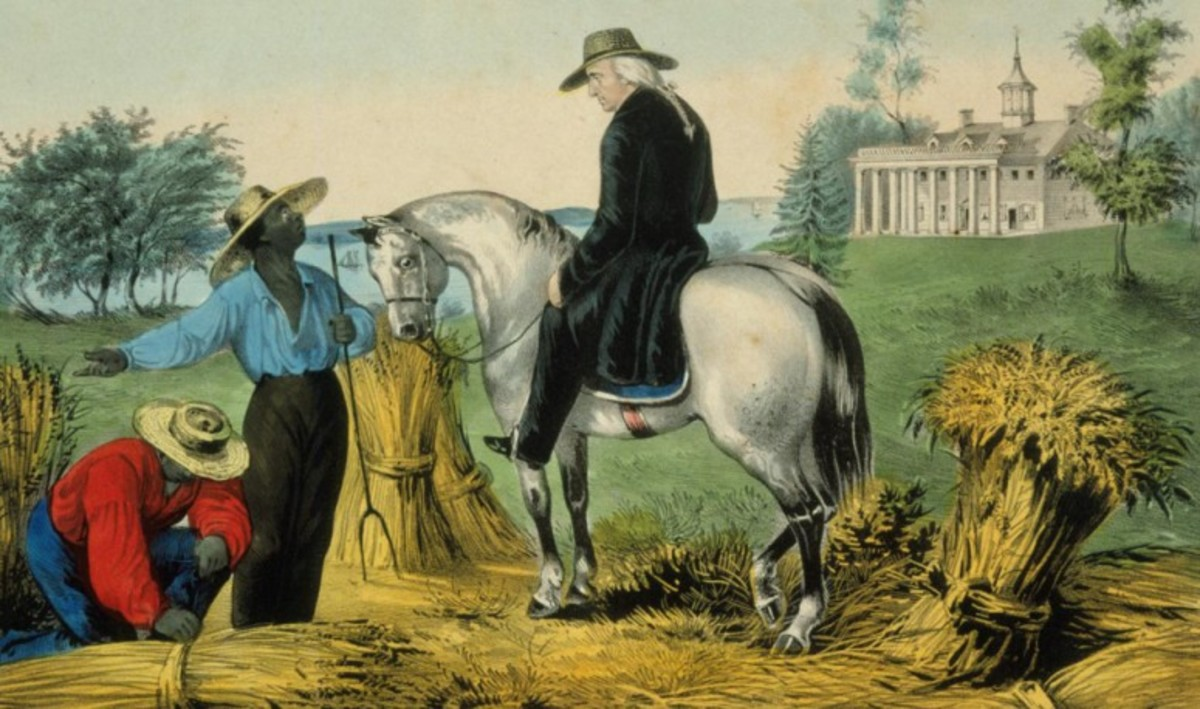 As a slaveholder George Washington was a demanding overseer.