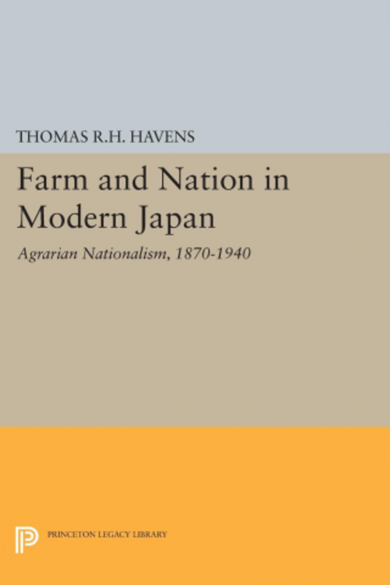 Book Review: Farm and Nation in Modern Japan (1870-1940)
