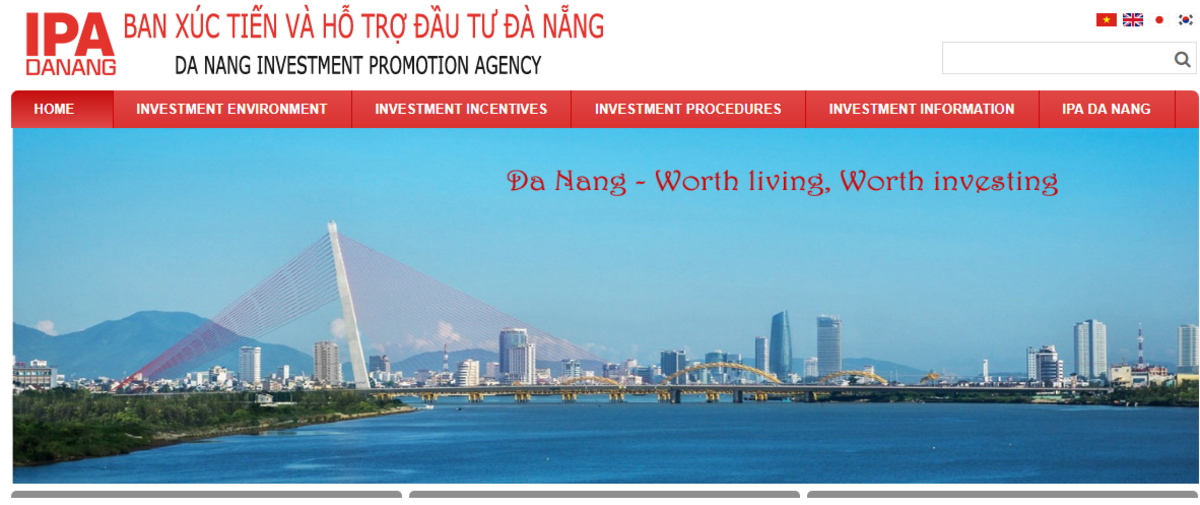 Website by Da Nang Investment Promotion Agency