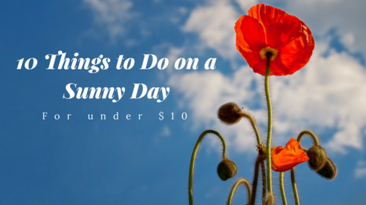 10 Fun Things to Do on a Sunny Day (for Under $10!)