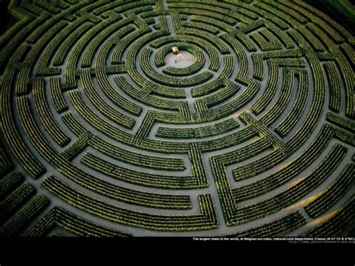 An never-ending maze and still no closer to solving the mystery.