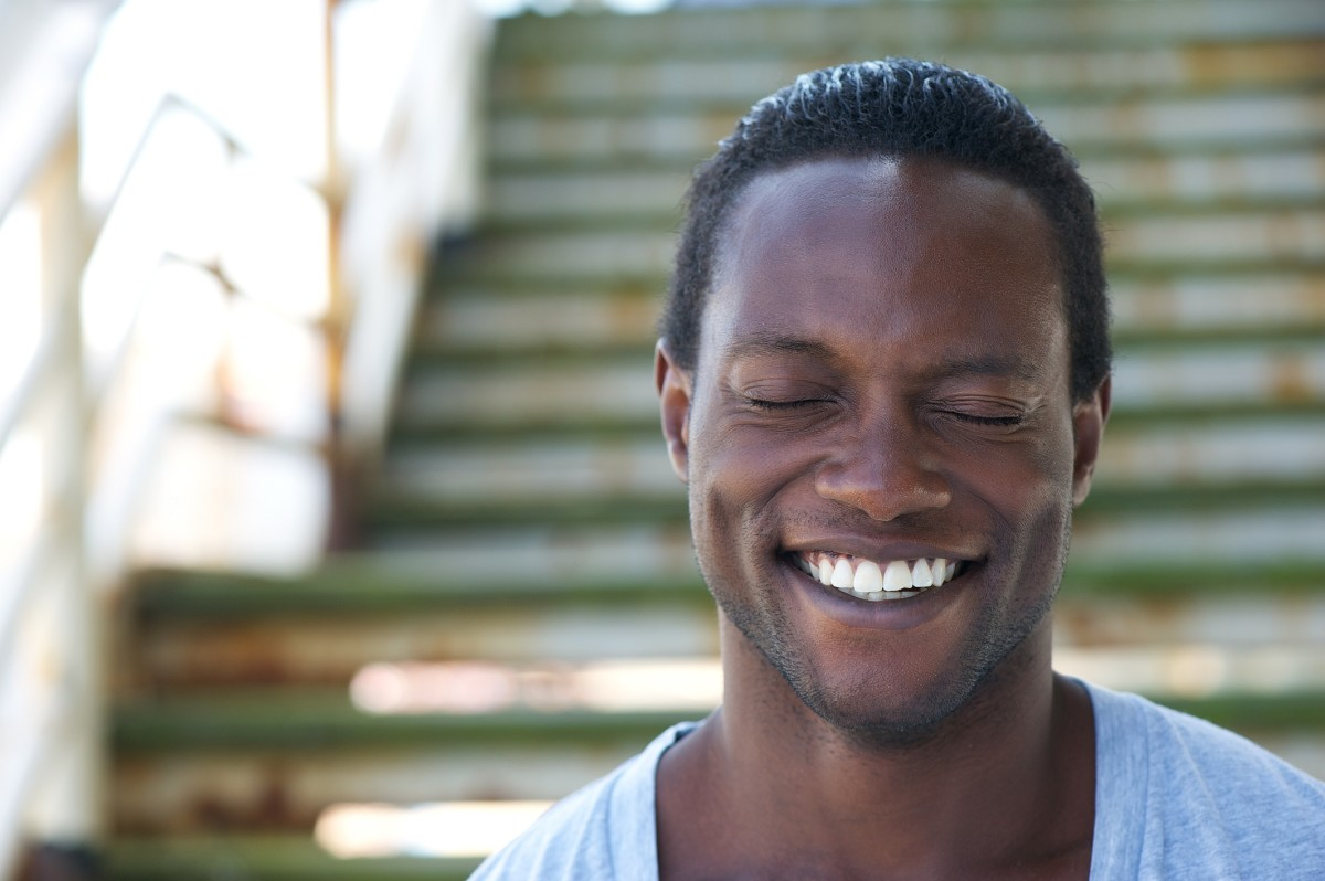 Smiling is the simplest way to meditate
