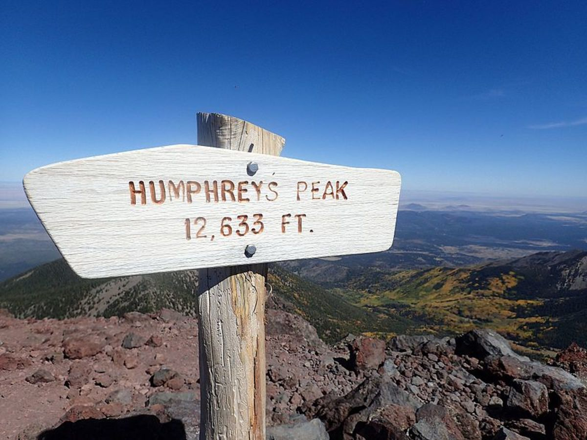 Hiking Mt. Humphreys in Flagstaff, Arizona