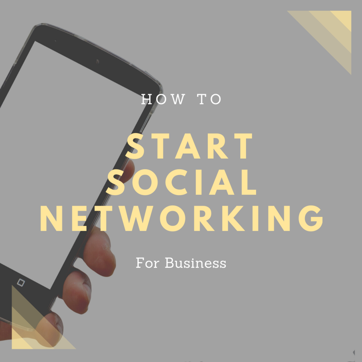 This article includes tips for businesses to get started on social media.
