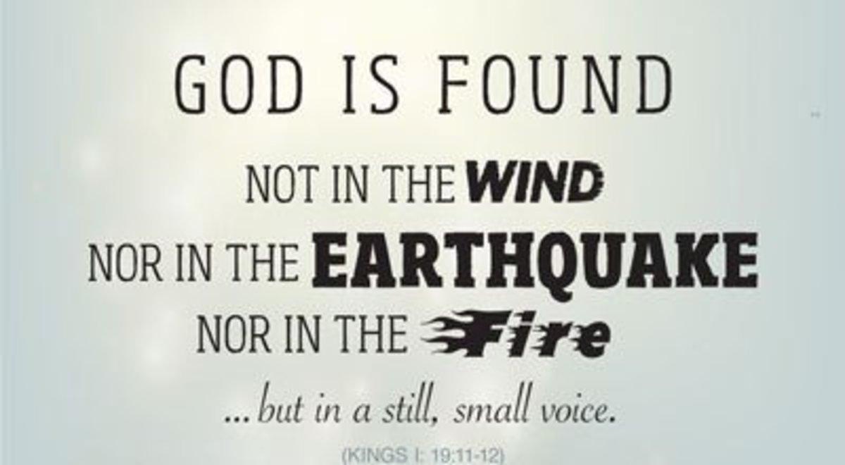 The Still, Small Voice