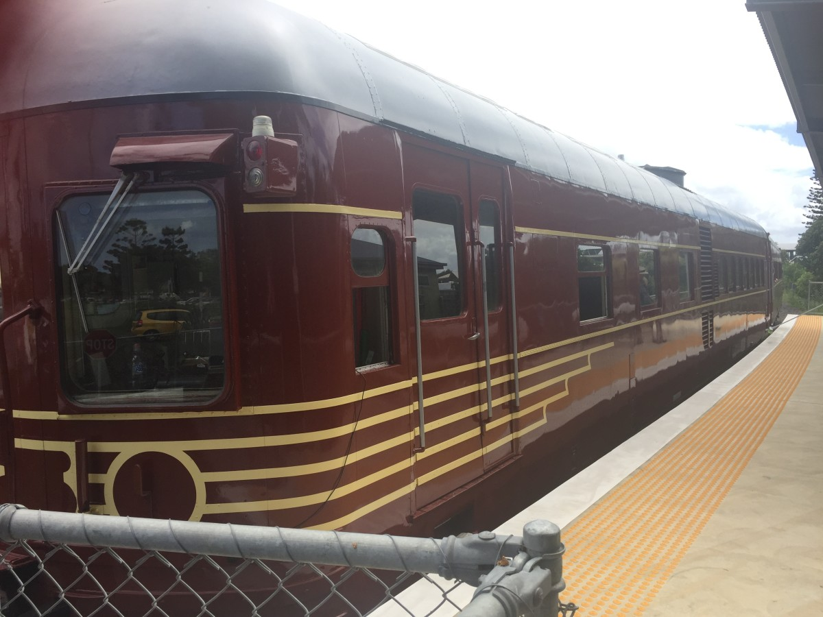 My Ride on the World's First Solar-Powered Train