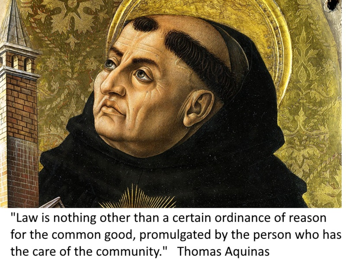 Thomas Aquinas saw reason as being the single most important factor in moral and ethical behaviour.
