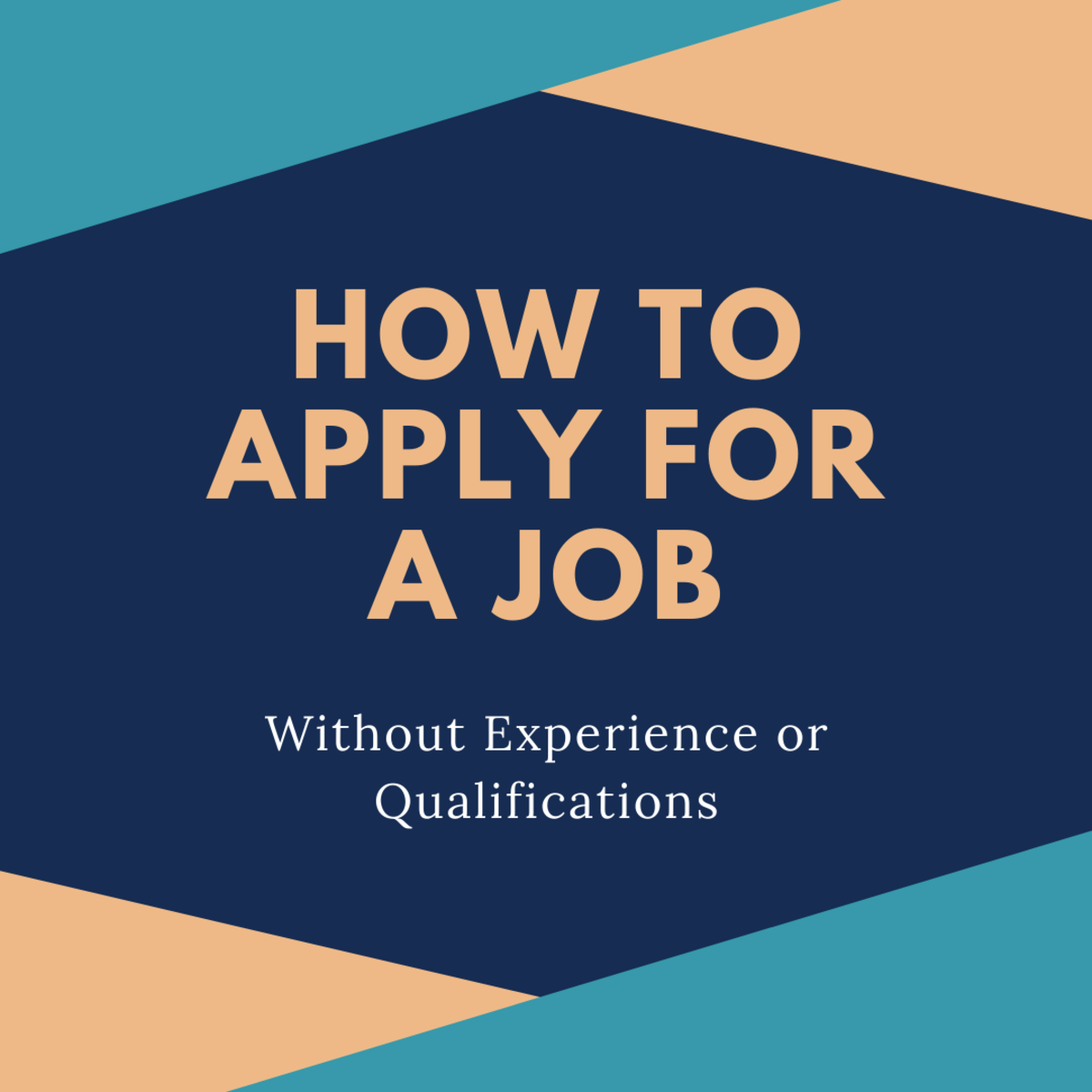 Even if you don't have the experience qualifications, you can still apply to that job!