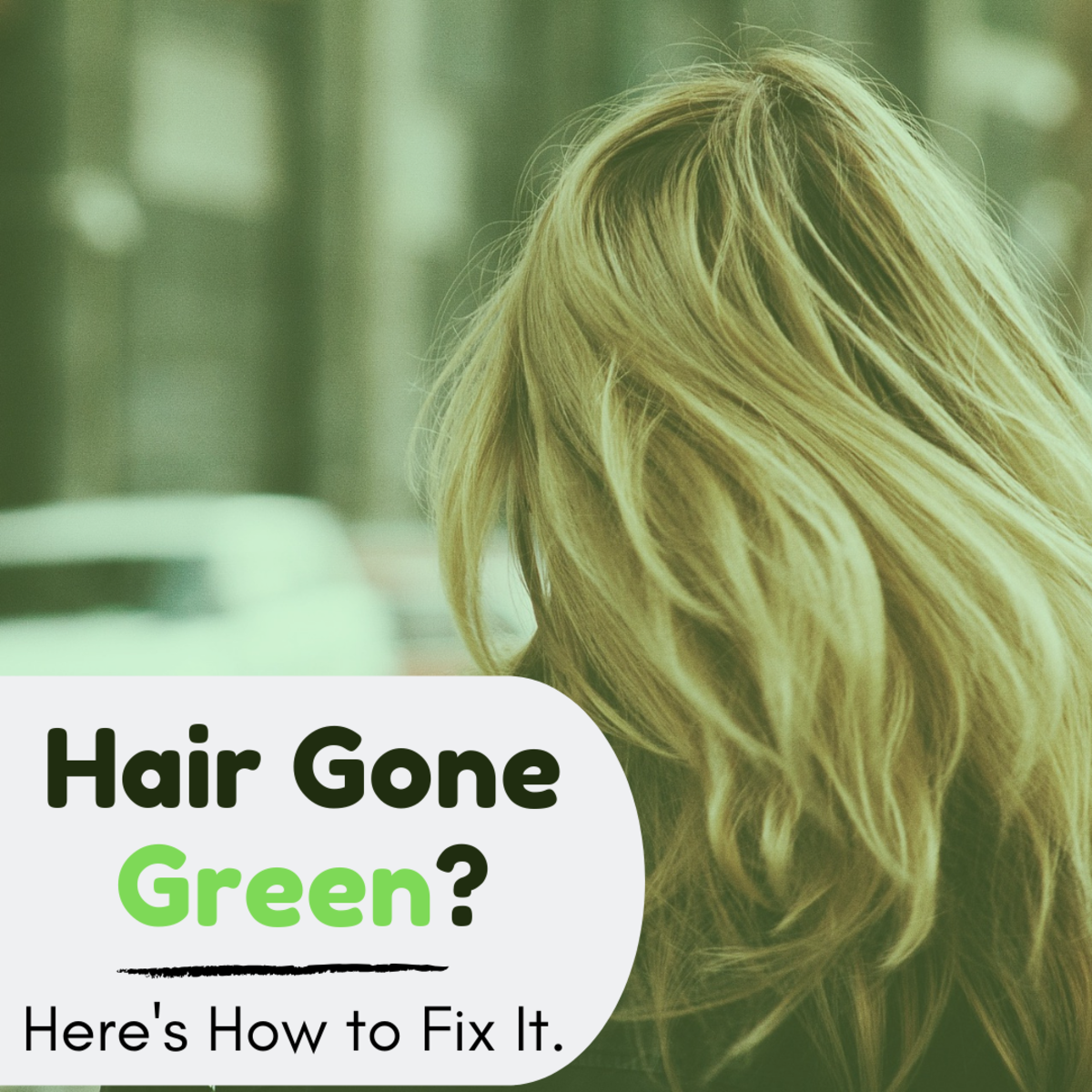 Whether it's a dye job gone wrong or one too many trips to the pool, accidental green hair is no fun! Luckily, it isn't too hard to get rid of.
