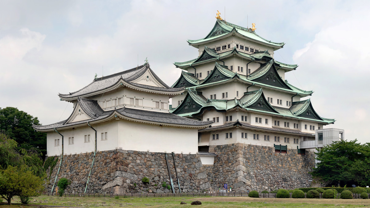 A view of Nagoya castle