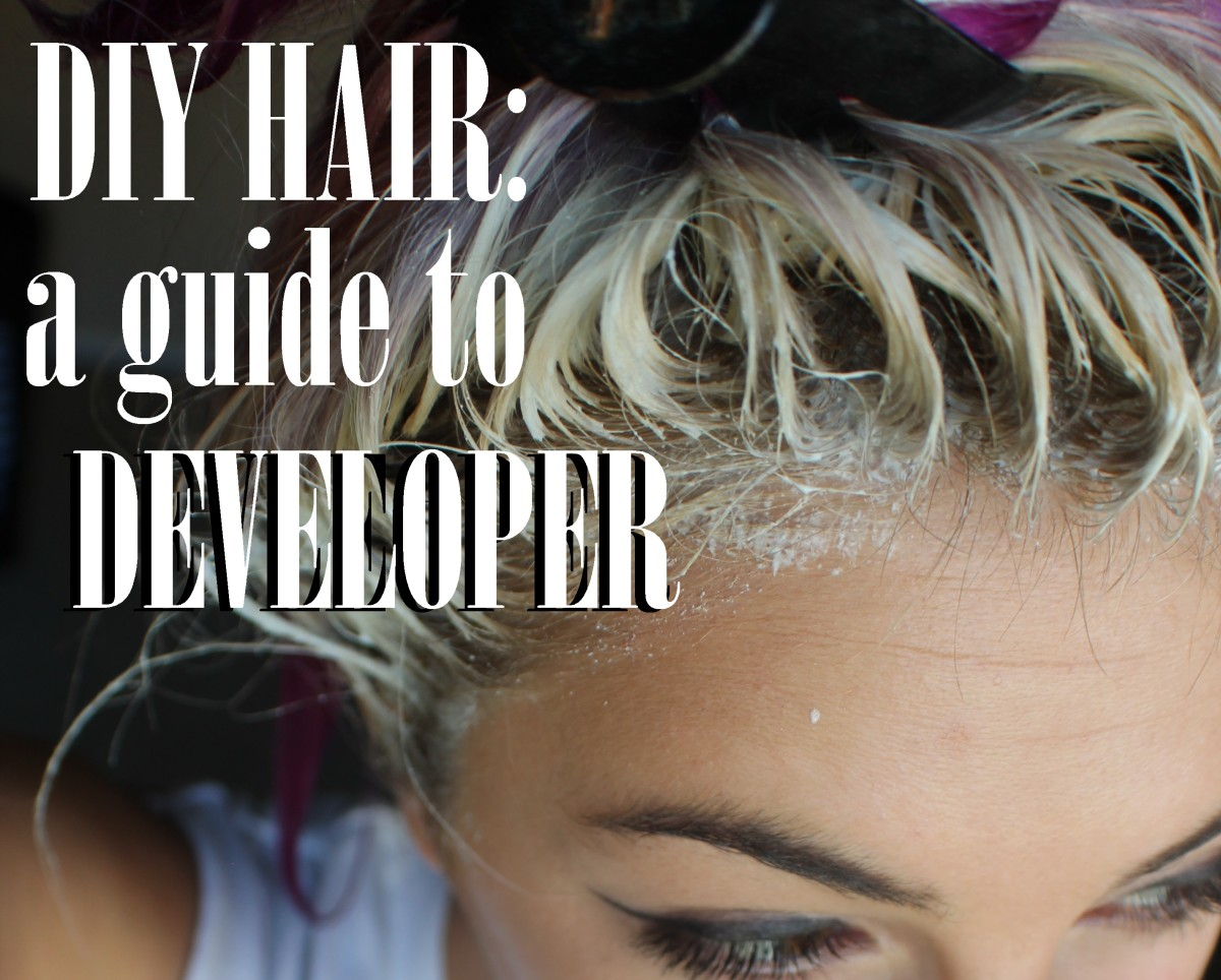 Diy Hair What Is Developer And How Do You Use It Bellatory
