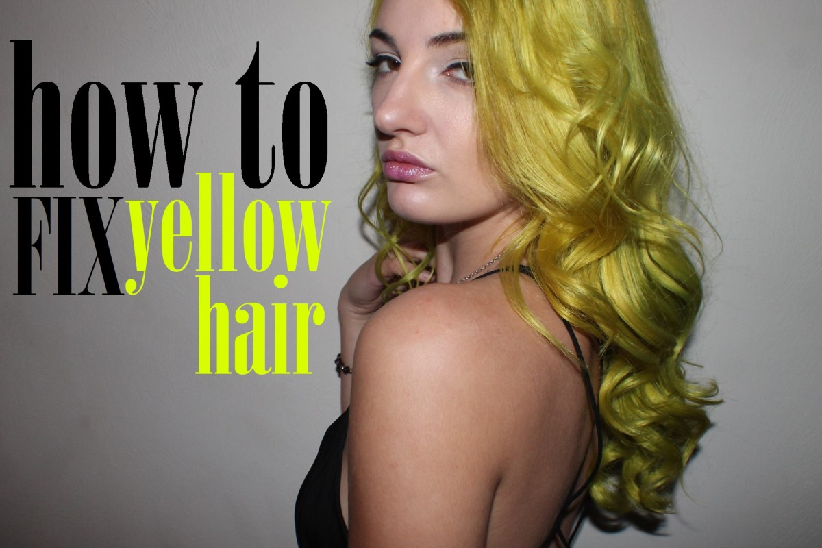 DIY Hair: How to Fix Yellow Hair | Bellatory