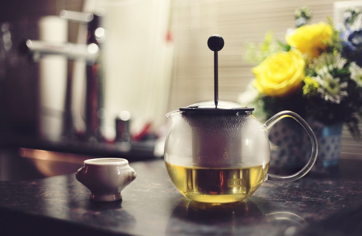 Valerian root tea amongst other relaxing caffeine-free teas may help slip your body into restful sleep.