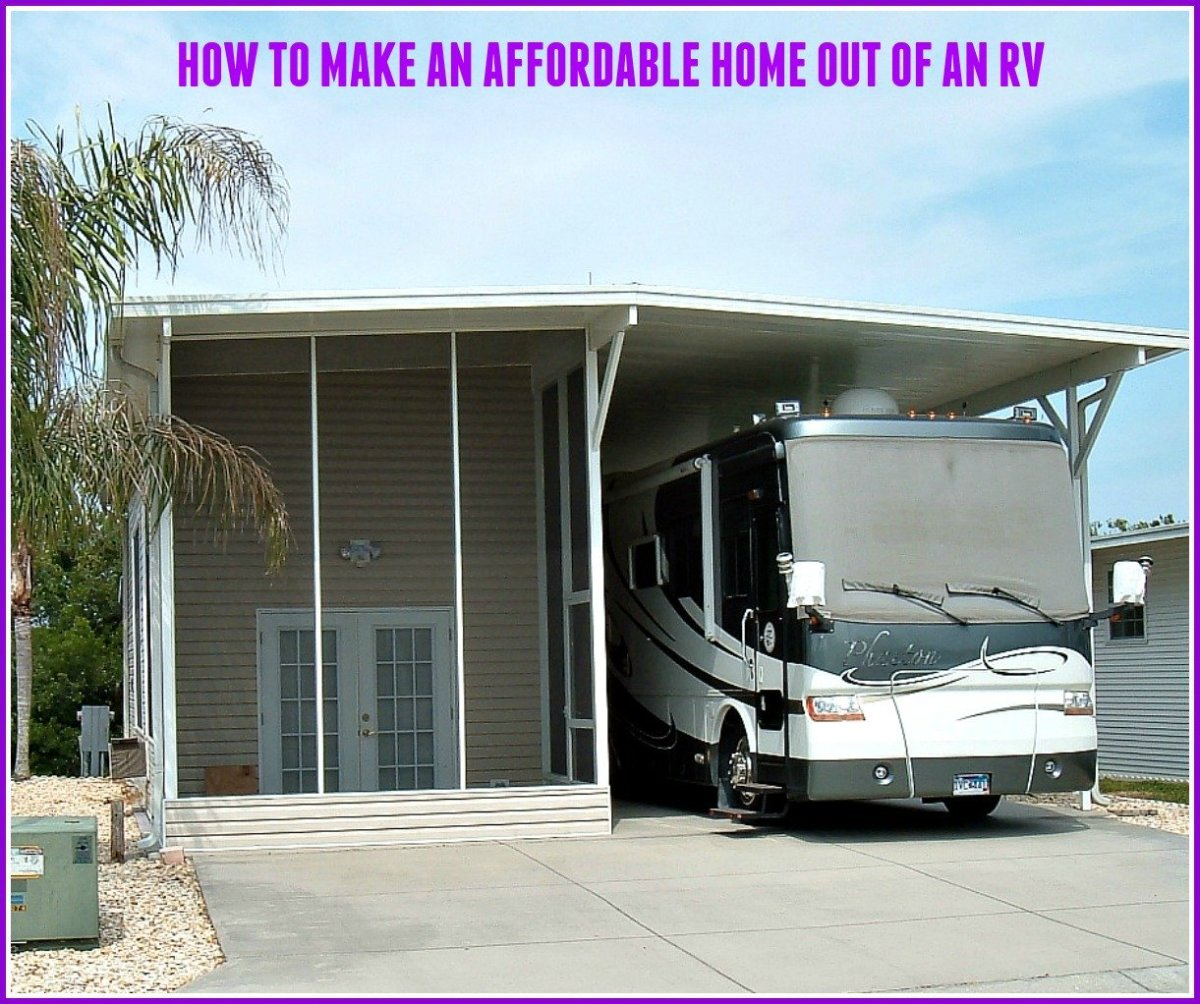 How to Make an Affordable Home out of an RV