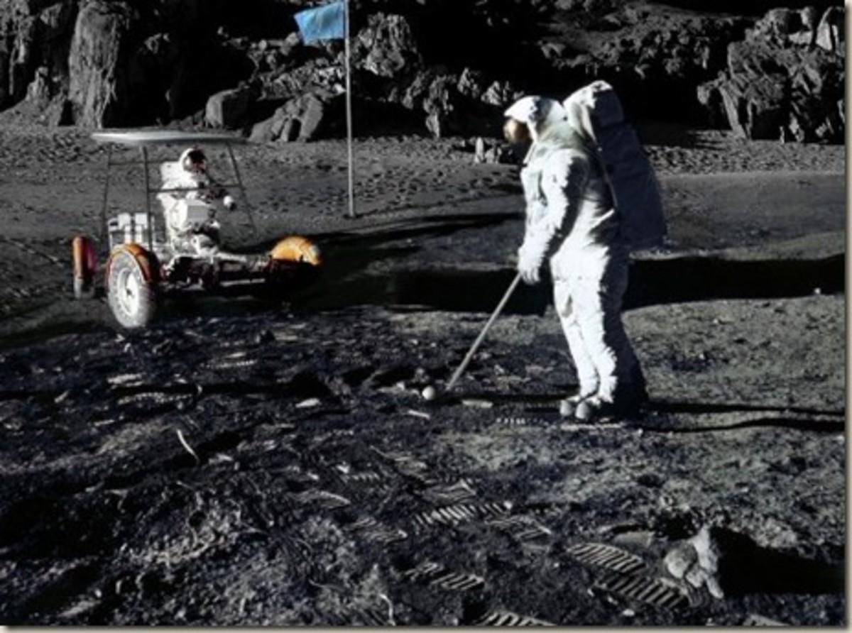 Golf on the Moon, Frisbee on Mars
