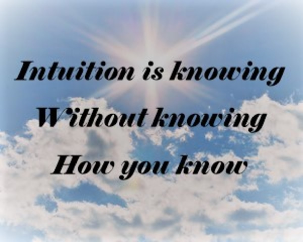 Intuition: One of our Most Effective Weapons is Perhaps the Least Utilized.