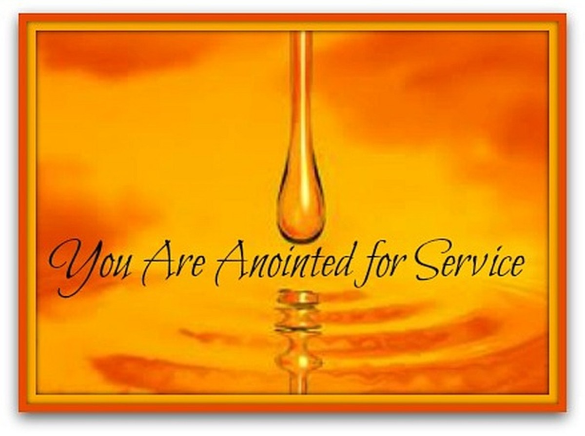 Are you anointed to do what you do?