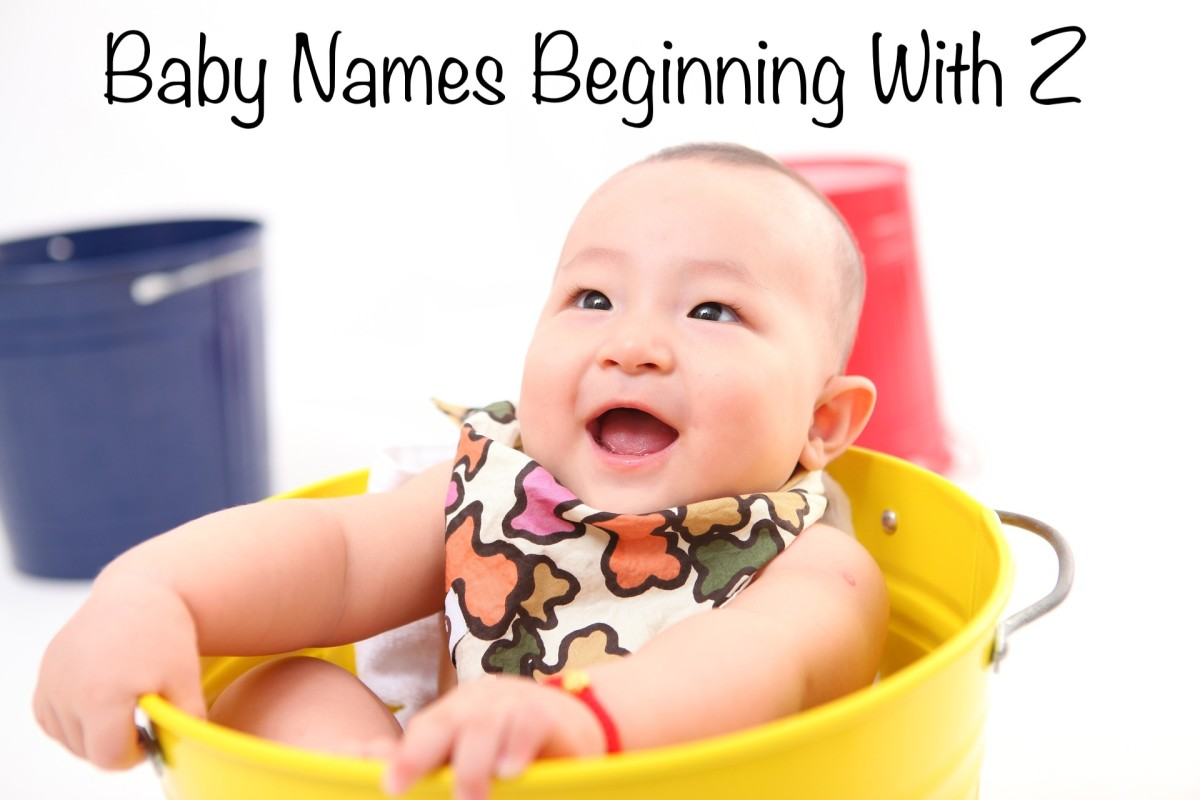 Baby Names Beginning With Z