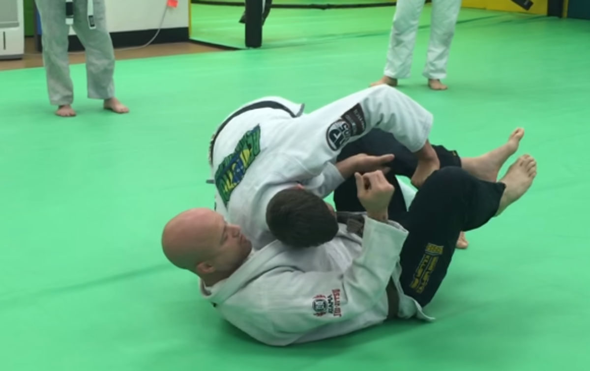 Using the toreando guard pass.