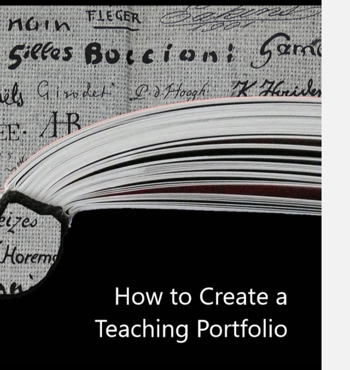 How to Create a Teaching Portfolio