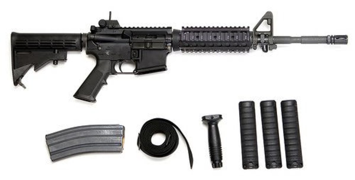 This is what Murray took, along with two magazines of ammunition